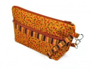 Double Zipper Pocket Bag