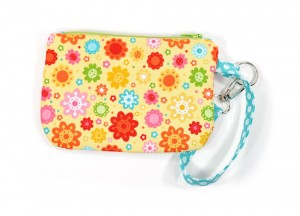 Spring Zipper Wallet